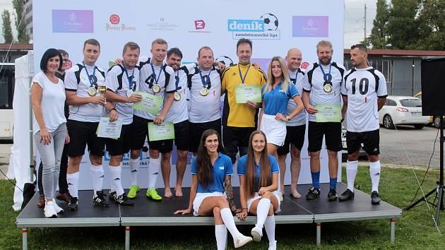 Zaměstnanecké lize v Brně vládl Starez-Sport. Ve finále přehrál Bors