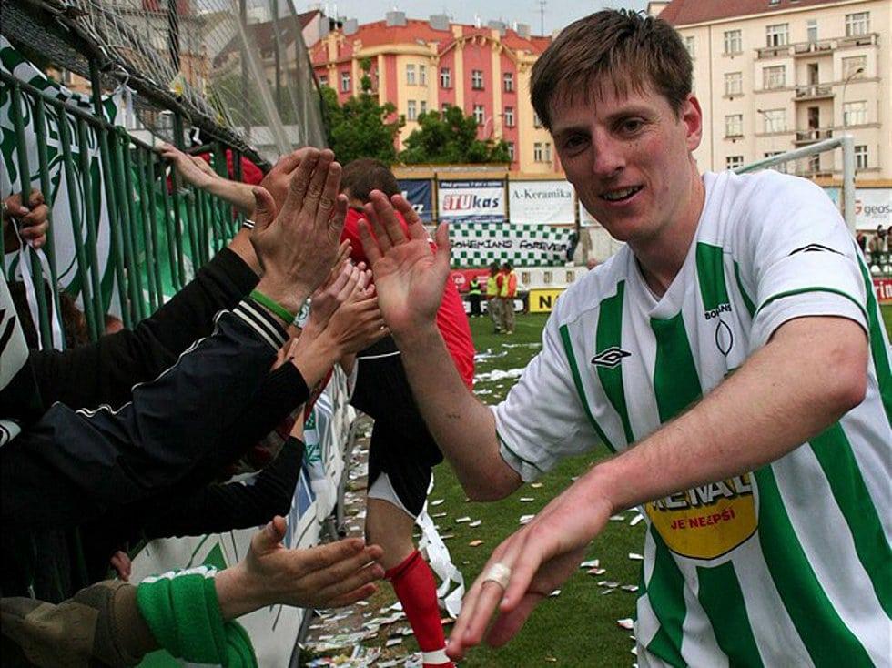 Jiří Rychlík hrál ligu i poháry, v práci se nechal přemluvit do přeboru