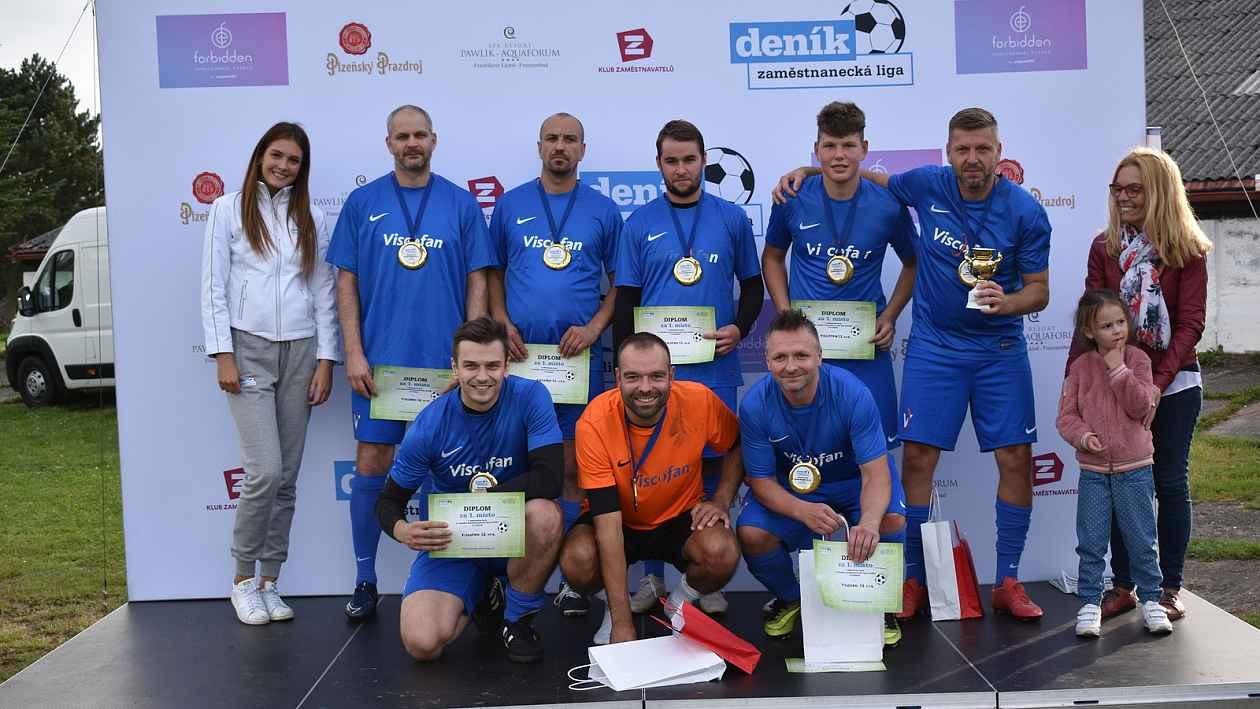 Viscofan obhájil loňské prvenství v českobudějovickém kole Zaměstnanecké ligy