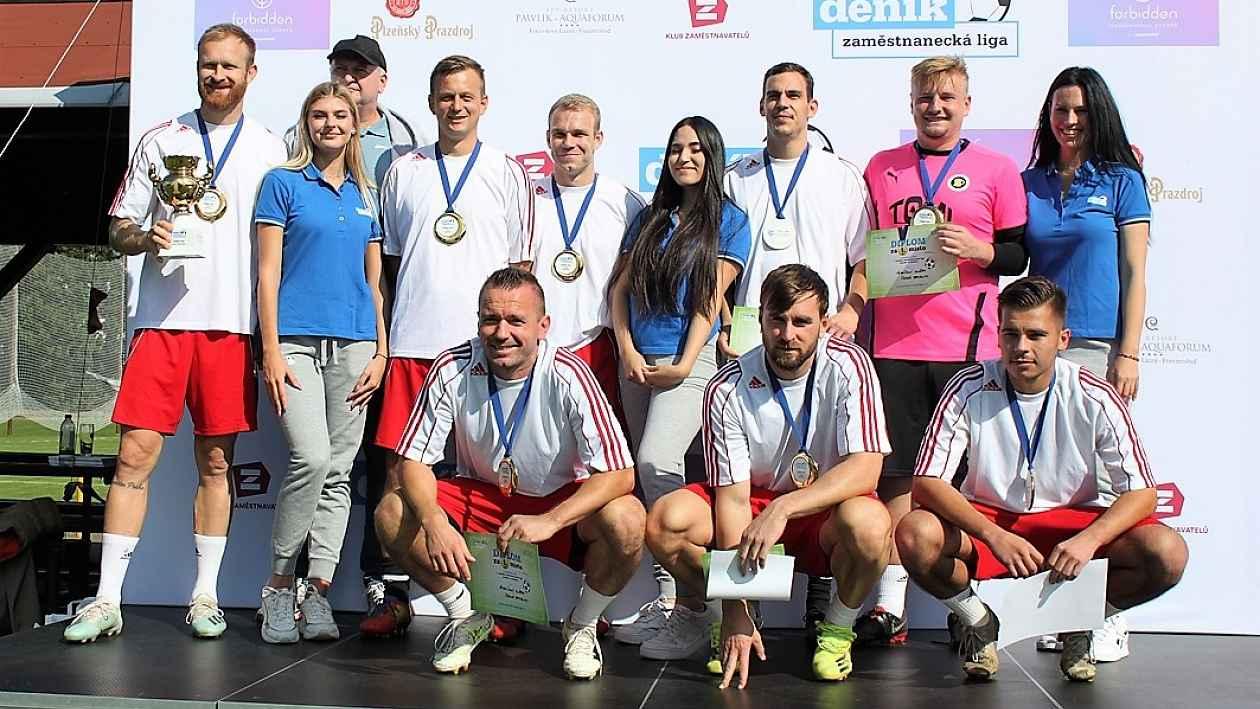 Vězeňská služba a Enteria napochodovaly do finále Zaměstnanecké ligy Deníku